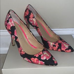 "Banana Republic ""Ninah"" Pink Multi Pumps"